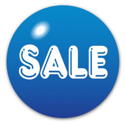 White (Blue Sale)