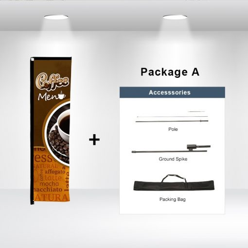 Rectangle Advertising Flag Package A