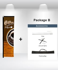 Rectangle Advertising Flag Package B