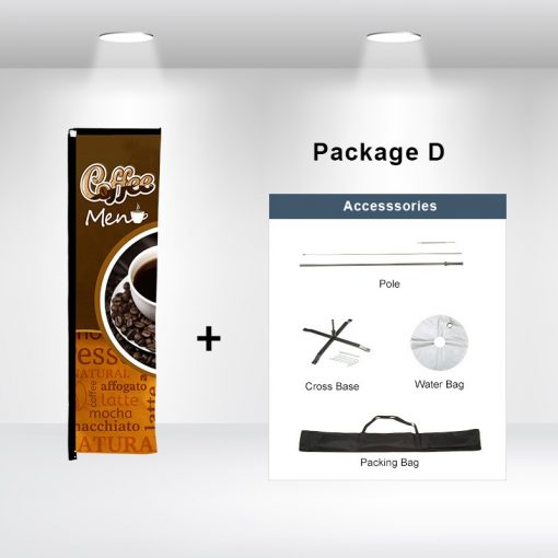 Rectangle Advertising Flag Package D