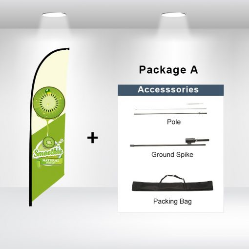 Blade Flag Angled Package A