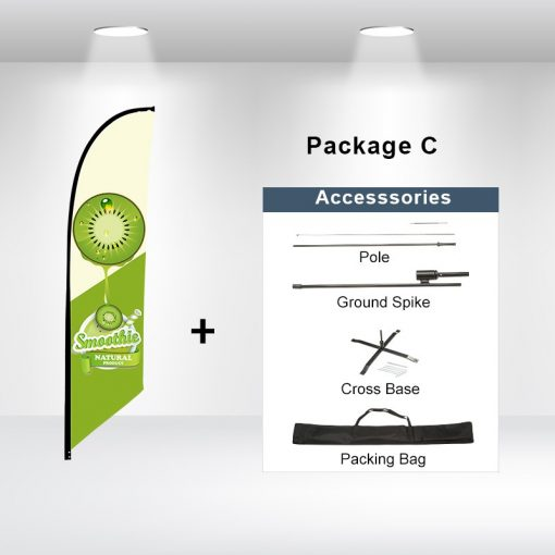 Blade Flag Angled Package C