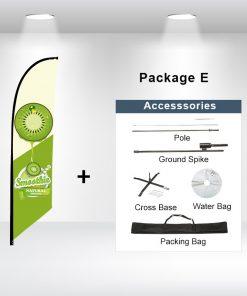 Blade Flag Angled Package E