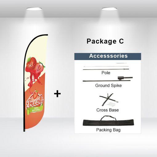 Convex Flag Package C