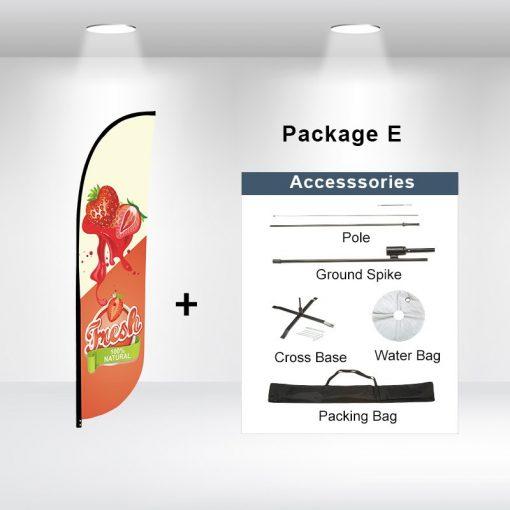 Convex Flag Package E