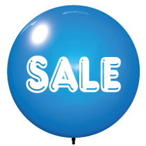 Blue Sale